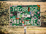 "Mt.City, Elko County, Nevada's ""The Bridge to No Where"""