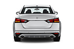 Straight rear view of 2020 Nissan Altima SV 4 Door Sedan Rear View  stock images