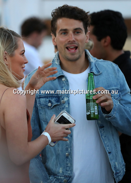 24 NOVEMBER 2016 SYDNEY AUSTRALIA<br /> WWW.MATRIXPICTURES.COM.AU<br /> <br /> EXCLUSIVE  PICTURES<br /> <br /> Keira Maguire pictured chatting to Matty Johnson at the Royal Croquet Club Launch. <br /> <br /> *No web without clearance*.<br /> <br /> MUST CALL PRIOR TO USE <br /> <br /> +61 2 9211-1088. <br /> <br /> Note: All editorial images subject to the following: For editorial use only. Additional clearance required for commercial, wireless, internet or promotional use.Images may not be altered or modified. Matrix Media Group makes no representations or warranties regarding names, trademarks or logos appearing in the images.