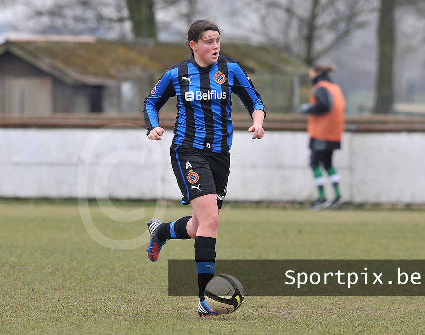 Club Brugge Dames : Sofie Huyghebaert.foto DAVID CATRY / Vrouwenteam.be