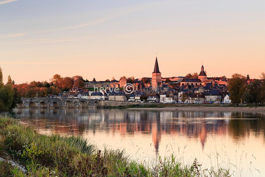 France, Nièvre (58), La Charité-sur-Loire,