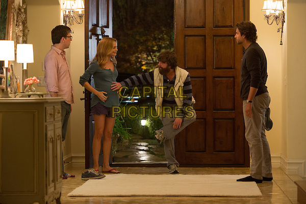 ED HELMS, HEATHER GRAHAM, ZACH GALIFIANAKIS &amp; BRADLEY COOPER<br /> in The Hangover Part III (2013) <br /> 3<br /> *Filmstill - Editorial Use Only*<br /> CAP/FB<br /> Supplied by Capital Pictures