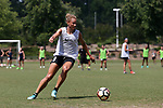 CARY, NC - MAY 10: Lynn Williams. The North Carolina Courage held a training session on May 10, 2017, at WakeMed Soccer Park Field 7 in Cary, NC.
