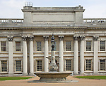 Old Royal Naval College, Greenwich, London now a World Heritage site because of its global architectural value,