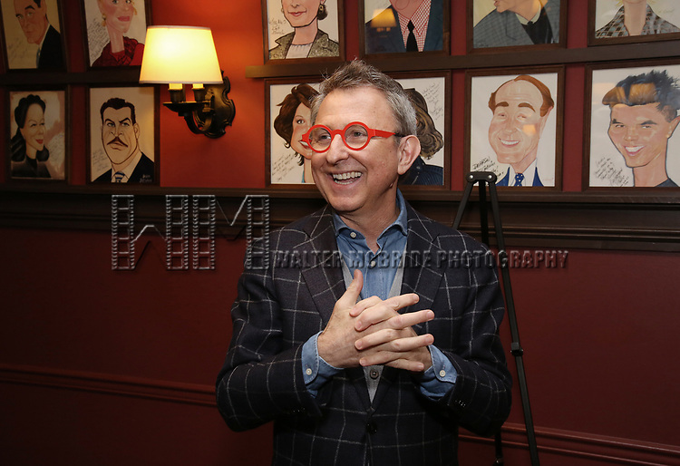 Thomas Schumacher attends the Julie Taymor Sardi's Caricature unveiling at Sardi's Restaurant on November 3, 2017 in New York City.