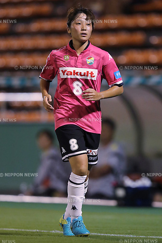 Yuka Anzai (Jef Ladies), <br /> SEPTEMBER 3, 2016 - Football / Soccer : <br /> Plenus Nadeshiko League Cup 2016 Division 1 Final match <br /> between NTV Beleza 4-0 Jef Chiba Ladies <br /> at Ajinomoto Field Nishigaoka in Tokyo, Japan. <br /> (Photo by AFLO SPORT)