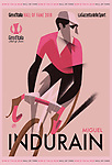 Miguel Indurain (ESP) was today inducted into the Giro d'Italia Hall of Fame. The Spaniard who won the Corsa Rosa in 1992 and 1993 joins the roll of honor alongside Merckx, Gimondi, Roche, Moser, Baldini and Hinault. The Corsa Rosa celebrates him today with his induction into the Giro d&rsquo;Italia Hall of Fame, in the stunning scenery of the Teatro Gerolamo in Milan. 5th April 2018.<br /> Picture: LaPresse/GM D&quot;Alberto | Cyclefile<br /> <br /> <br /> All photos usage must carry mandatory copyright credit (&copy; Cyclefile | LaPresse/GM D&quot;Alberto)