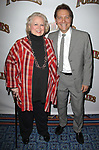 Barbara Cook & Michael Feinstein attending the Broadway Opening Night Performance of 'Follies' at the Marquis Theatre in New York City.