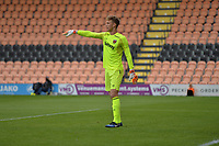 west ham keeper richards matrevics during Barnet vs West Ham United, Friendly Match Football at the Hive Stadium on 15th July 2017