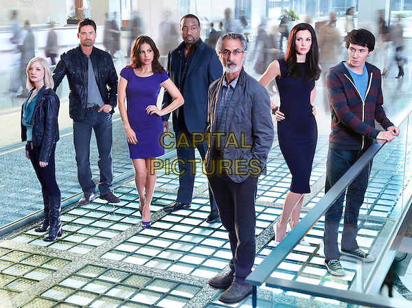 ERIN WAY, WARREN CHRISTIE, AZITA GHANIZASA, MALIK YOBA, DAVID STATHAIRN, LAURA MENNELL & RYAN CARTWRIGHT.in Alphas (series 2).*Filmstill - Editorial Use Only*.CAP/NFS.Supplied by Capital Pictures.