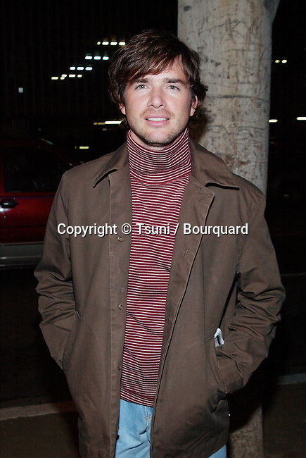 Matthew Settle arriving the premiere of We Stand Alone Together at the Writer Guild in Los Angeles. November 6, 2001.          -            SettleMatthew02A.jpg