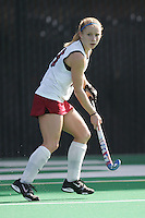 STANFORD, CA - OCTOBER 19:  Marlana Shile of the Stanford Cardinal during Stanford's 12-0 win over UC Davis on October 19, 2008 at the Varsity Field Hockey Turf in Stanford, California.