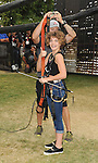 Camren Bicondova at the Gotham Zip Line at Comic-Con 2014 in San Diego, Ca. July 26, 2014.