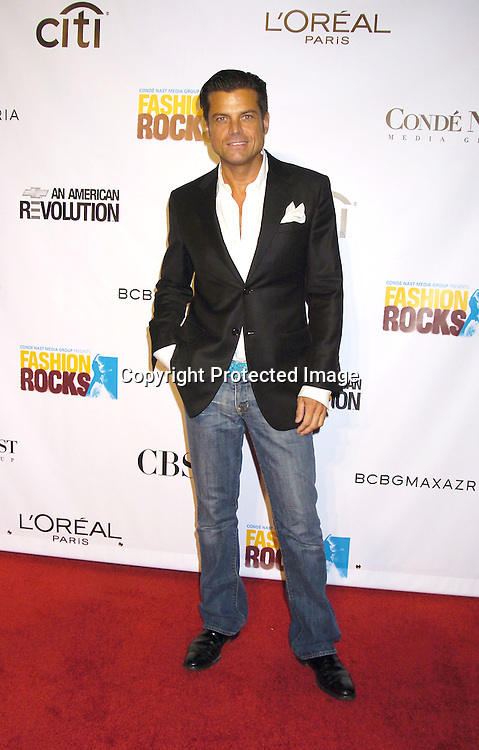 Douglas Hannant ..at the Conde Nast Media Group Fashion Rocks second annual live concert on September 8, 2005 at Radio City Music Hall. ..Photo by Robin Platzer, Twin Images