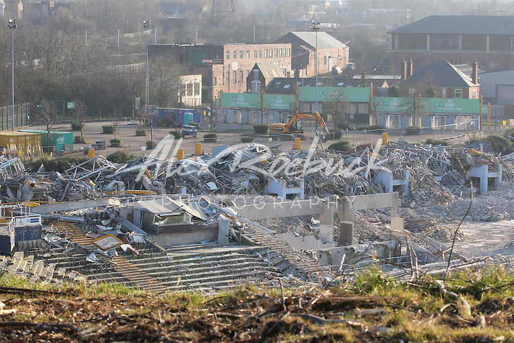 DON VALLEY STADIUM DEMOLITION PROCESS - SHEFFIELD