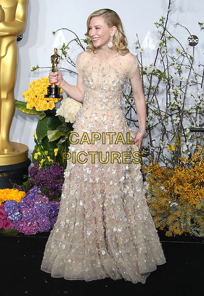 02 March 2014 - Hollywood, California - Cate Blanchett. 86th Annual Academy Awards held at the Dolby Theatre at Hollywood &amp; Highland Center. <br /> CAP/ADM/RE<br /> &copy;Russ Elliot/AdMedia/Capital Pictures