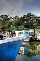 Commercial fishing boats, Islamorada, Florida