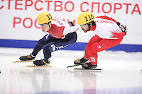 "SHORT TRACK: MOSCOW: Speed Skating Centre ""Krylatskoe"", 14-03-2015, ISU World Short Track Speed Skating Championships 2015, Final A 1500m Men, Semen ELISTRATOV (#152 