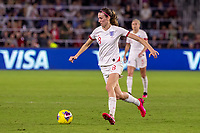 5th March 2020, Orlando, Florida, USA;  England midfielder Jill Scott (8) controls the ball during the SheBelieves Cup match between England and the USA on March 5, 2020, at Exploria Stadium in Orlando FL.