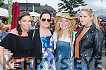 Mary Brosnan, Corinna Favier, Katie Crowley, and Nimah O'Brien at  Bikefest in Killarney on Sunday