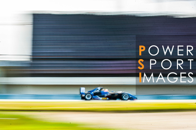 Sean Hudspeth of Singapore and Eurasia Motorsport drives during the Formula Masters China Series as part of the 2015 Pan Delta Super Racing Festival at Zhuhai International Circuit on September 18, 2015 in Zhuhai, China.  Photo by Aitor Alcalde / Power Sport Images