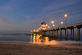 Stock Photos of Huntington Beach Pier