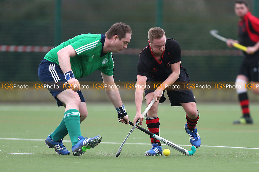 Havering HC 2nd XI vs Chelmsford HC 3rd XI, East Region League Field Hockey at Campion School on 25th February 2017