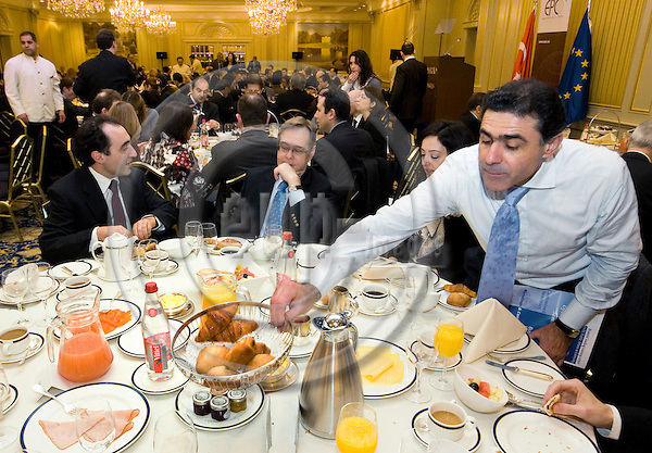 BRUSSELS - BELGIUM - 19 JANUARY 2009 -- European Policy Centre (EPC) breakfast briefing on Turkey - EU Relations with the Prime Minister for the Republic of Turkey. -- PHOTO: Juha ROININEN / EUP-IMAGES
