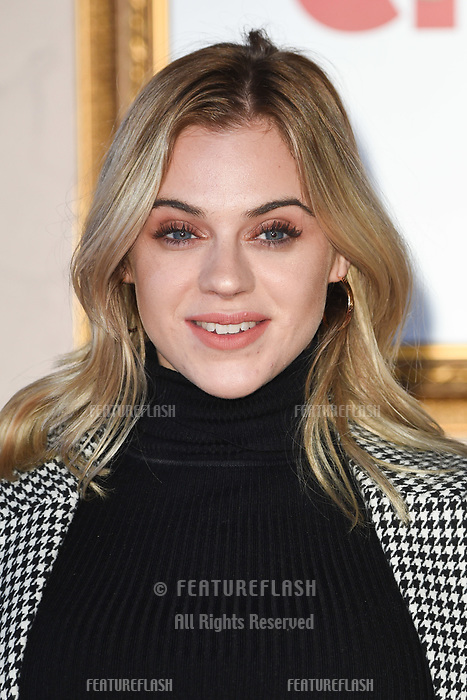 "LONDON, UK. November 21, 2018: Laura Crane at the ""Surviving Christmas with the Relatives"" premiere at the Vue Leicester Square, London.<br /> Picture: Steve Vas/Featureflash"