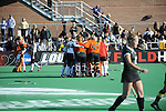 23 NOV 2008: of the University of Maryland and of Wake Forest University during the Division I Women's Field Hockey Championship held at Trager Stadium on the University of Louisville campus in Louisville, KY.   Greg Fiume/NCAA Photos