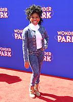 "10 March 2019 - Westwood, California - Trinitee Stokes. ""Wonder Parker"" Los Angeles Premiere held at Regency Village Theater. Photo Credit: Birdie Thompson/AdMedia"