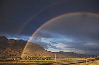 Rainbow, Yellowstone National Park, Wyoming, USA