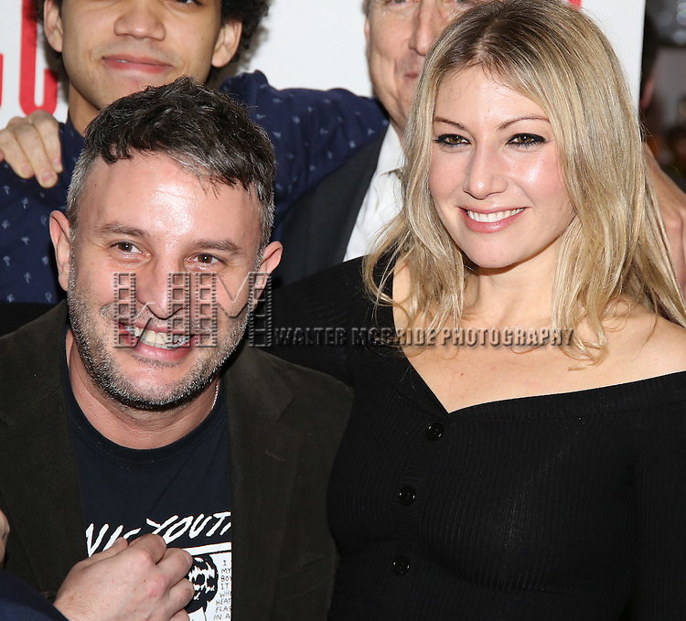 Trip Cullman and Ari Graynor attend the 'Yen' Opening Night After Party at the Sushisamba on January 31, 2017 in New York City.