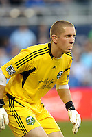 Troy Perkins goalkeeper Portland Timbers... Sporting Kansas City defeated Portland Timbers 3-1 at LIVESTRONG Sporting Park, Kansas City, Kansas.