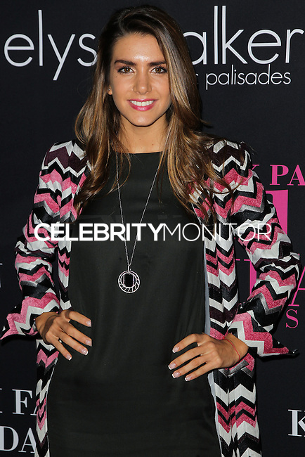 SANTA MONICA, CA, USA - OCTOBER 18: Valentina Ferrer arrives at Elyse Walker's 10th Annual Pink Party held at Santa Monica Airport HANGAR:8 on October 18, 2014 in Santa Monica, California, United States. (Photo by Celebrity Monitor)