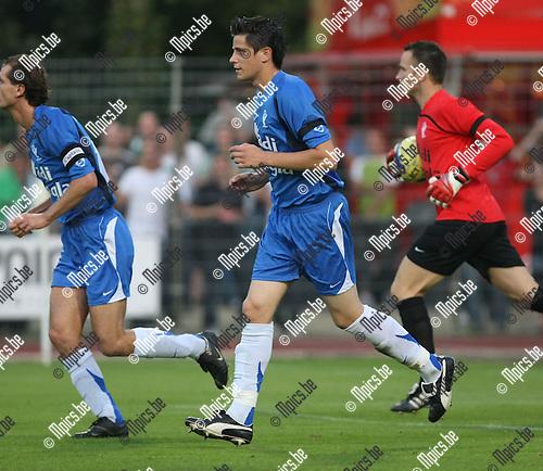 2008-08-30 / Voetbal / KV Turnhout - RC Mechelen / Steven Vandenbergh..Foto: Maarten Straetemans (SMB)