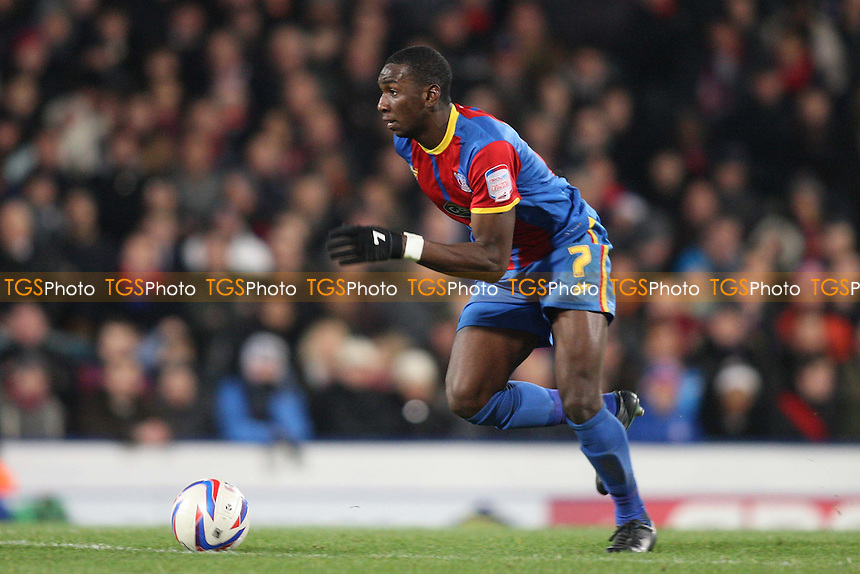 Yannick Bolasie of Crystal Palace - Crystal Palace vs Brighton & Hove Albion - NPower Championship Football at Selhurst Park, London - 01/12/12 - MANDATORY CREDIT: George Phillipou/TGSPHOTO - Self billing applies where appropriate - 0845 094 6026 - contact@tgsphoto.co.uk - NO UNPAID USE.