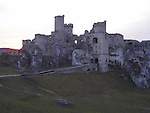 Ogrodzieniec Castle. It is noted for the extensive ruins of a medieval castle, damaged during the Swedish invasion of Poland The Deluge (Polish history) in the years 1655-1660. Andrzej Wajda's film staring Roman Polanski, Zemsta was filmed here.