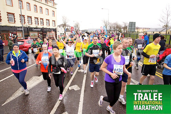 Taking partt in the Kerry's Eye Tralee International Marathon on Sunday 16th March 2014.