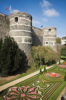 Europe/France/Pays de la Loire/49/Maine-et-Loire/ Angers: le Château et  ses jardins