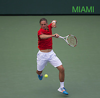 ALEXANDR DOLGOPOLOV (UKR)<br /> Tennis - Sony Open -  Crandon Park - Miami - Florida - USA - ATP-WTA - 2014  - USA  -  27 March 2014. <br /> <br /> &copy; AMN IMAGES