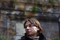 Palermo, 16 Dicembre 2005. Gianluca Faraone, Presidente della cooperativa Placido Rizzotto.