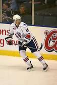 March 13, 2009:  Center Stefan Meyer (10) of the Rochester Amerks, AHL affiliate of the Florida Panthers, in the first period during a game at the Blue Cross Arena in Rochester, NY.  Toronto defeated Rochester 4-2.  Photo copyright Mike Janes Photography 2009