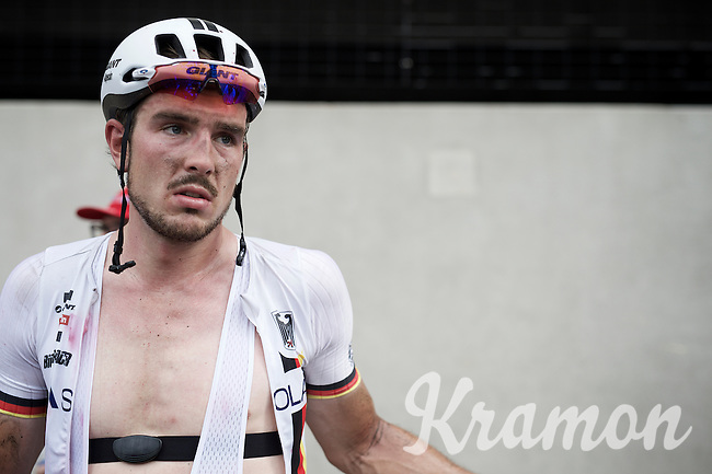 John Degenkolb (DEU/Giant-Alpecin) post-race<br /> <br /> Elite Men Road Race<br /> UCI Road World Championships Richmond 2015 / USA