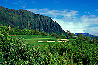 Koolau Golf Course, No. 12, Oahu, Hawaii.  Architects: Dick Nugent/Jack Tuthill