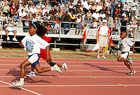 The Fastest Five Year Olds race at the Adidas Track Classic 2009 at the Home Depot Center, Carson, Ca. on Saturday May 16, 2009. Photo by Errol Anderson,The Sporting Image.net