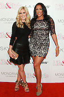 WEST HOLLYWOOD, CA, USA - OCTOBER 23: Heidi Montag, Natalie Nunn arrive at the Life & Style Weekly 10 Year Anniversary Party held at SkyBar at the Mondrian Los Angeles on October 23, 2014 in West Hollywood, California, United States. (Photo by David Acosta/Celebrity Monitor)