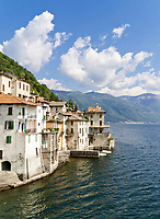 Italien, Lombardei, Comer See, Brienno am Westufer | Italy, Lombardia, Lake Como, Brienno at west banks