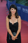 Zabou Breitman arrives at the 'Mr Holmes' Premiere red carpet during the 41st Deauville American Film Festival on September 10, 2015 in Deauville, France