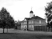 williamsburg, virginia, colonial williamsburg building